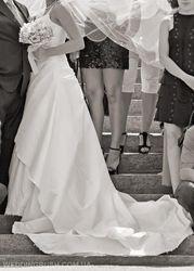 Шикарное свадебное платье фирмы Knightly.