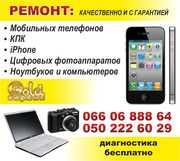 Замена экрана,  сенсорного стекла iPhone