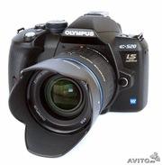 Продам не спешно. Olympus E-520 double zoom kit (10 МПкс)