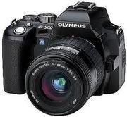 Продам б/у фотоаппарат зеркальный Olympus E-500