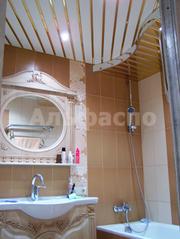 Алюминиевые подвесные потолки для ванной