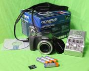 Продаю дёшево фотоаппарат супер-зум  Olympus sp 550 uz