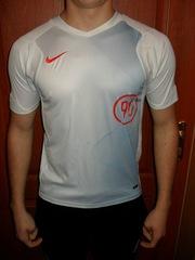 фирменная футболка nike total 90