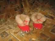 Новые теплые валенки для малютки