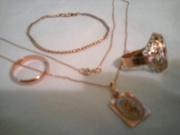 4000 грн за 9, 51 гр золота : перстень 2, 8г , обручальное кольцо 2, 8г , ц