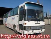 Автостекло триплекс,  лобовое стекло для автобусов Mercedes