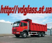 Автостекло триплекс,  лобовое стекло для грузовиков FAW