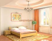 Кровати из натурального дерева со скидкой