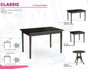 Стол деревянный для кафе стол КЛАССИК
