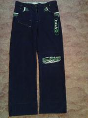 Мужские подростковые джинсы,  вельвет,  отличное состояние,  низкая цена