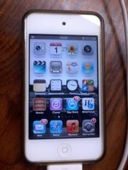 Продам Apple Ipod touch 4g 32gb white + чехол в подарок!