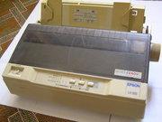 Матричный принтер Epson LX-300,  б/у