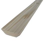 Плинтус деревянный напольный,  потолочный