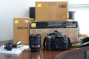 Цифровой зеркальный б/у Nikon D80 + Nikkor 18-70mm f 3.5-4.5G IF ED