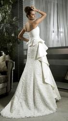 ОБАЛДЕННОЕ ПЛАТЬЕ,  свадебное платье Karlozi 2013 г.