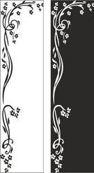 Декоративные наклейки на зеркала