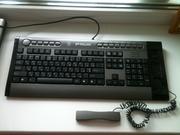 Продам мультимедийную клавиатуру со встроенным телефоном