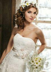 Фирменное свадебное платье Sincerity б/у