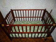 Детская кроватка Happy dino,  б/у Луганск