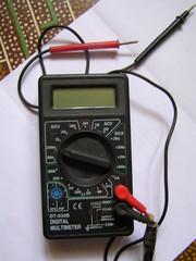 Мультиметр цифровой  модель: DT-830B б/у