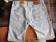 Шорты джинсовые Lee Cooper фирменные!!!