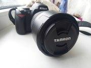Продам Nikon d40 с объективом Tamron AF 70 - 300 mm