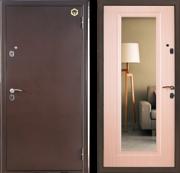 НОВИНКА! Сторожевая дверь Бульдорс с зеркалом