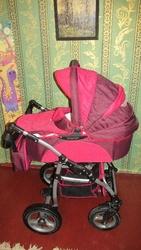 Детская коляска Donatan Onix 2в1 (Польша)