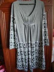 Продам трикотажное женское платье для беременных