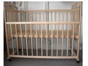 Продам детскую кроватку 120х60 см. Новая,  натуральное дерево. Не покры