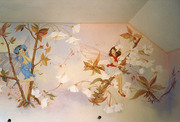 Роспись стен,  детских комнат,  кафе и пр.
